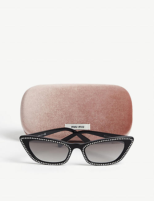 MIU MIU MU 10US 53 sunglasses