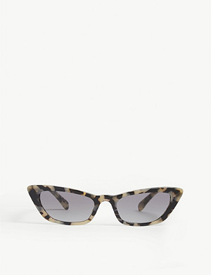 MIU MIU Mu 10Us cat-eye frame sunglasses