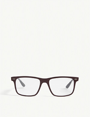 RAY-BAN RB7165 square-frame glasses