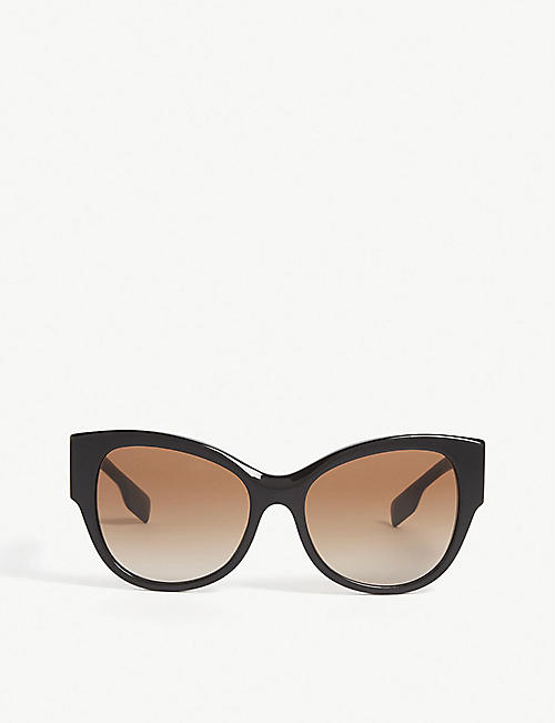 BURBERRY: B4294 cat-eye-frame sunglasses