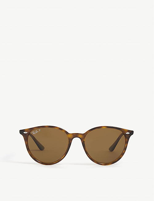 RAY-BAN RB4305 phantos-frame Havana sunglasses