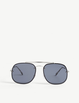 RAY-BAN RB3583 pilot-frame sunglasses