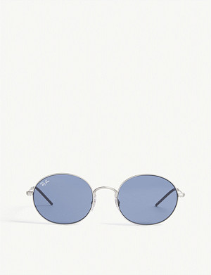 RAY-BAN RB3594 oval-frame sunglasses