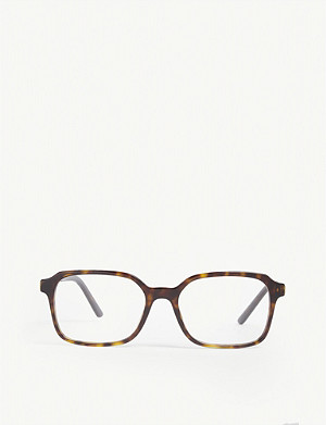 PRADA PR03X square-frame glasses