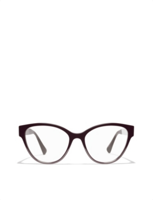 CHANEL 0CH3391 cat-eye glasses