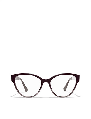 CHANEL Cat-eye glasses