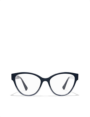 CHANEL: Cat-eye glasses