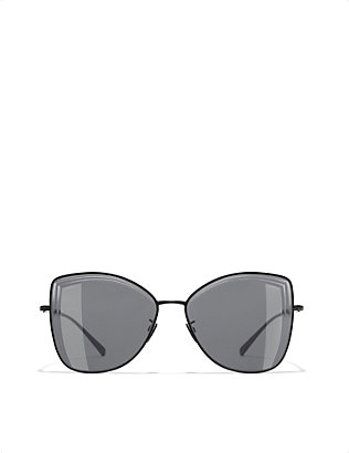 CHANEL: Butterfly sunglasses