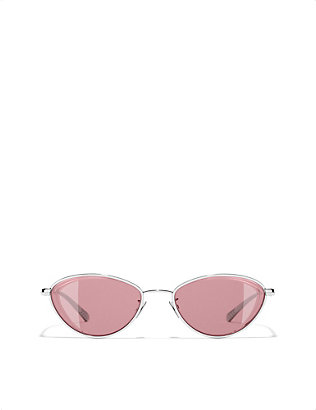 CHANEL: Cat-eye sunglasses