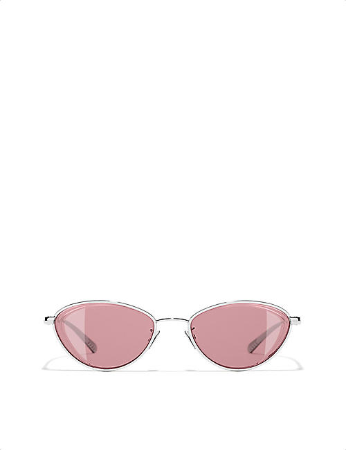 CHANEL Cat-eye sunglasses