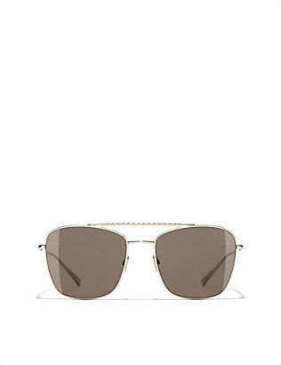 CHANEL: Square sunglasses