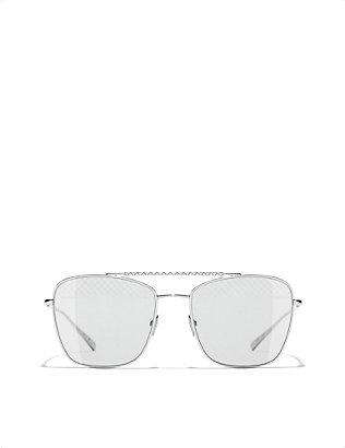 CHANEL: Aviator sunglasses