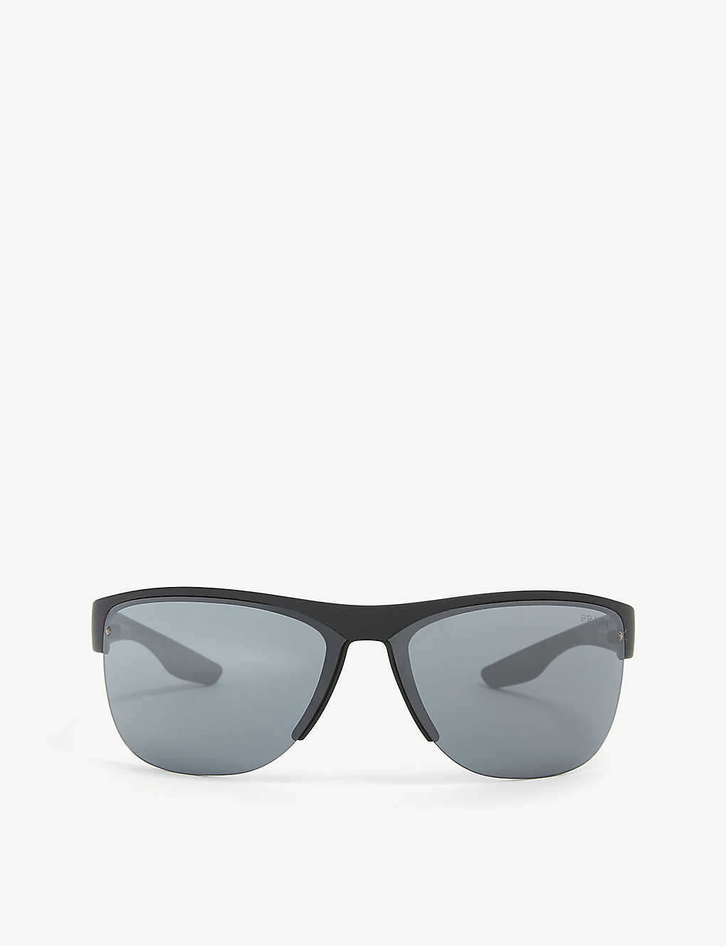 PRADA LINEA ROSSA: PS17US Active square frame sunglasses