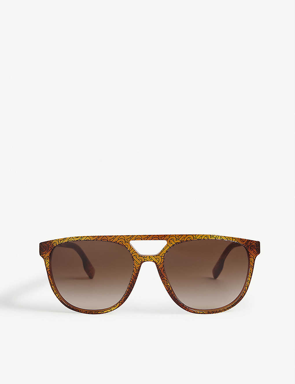 BURBERRY: BE4302 acetate square-frame sunglasses
