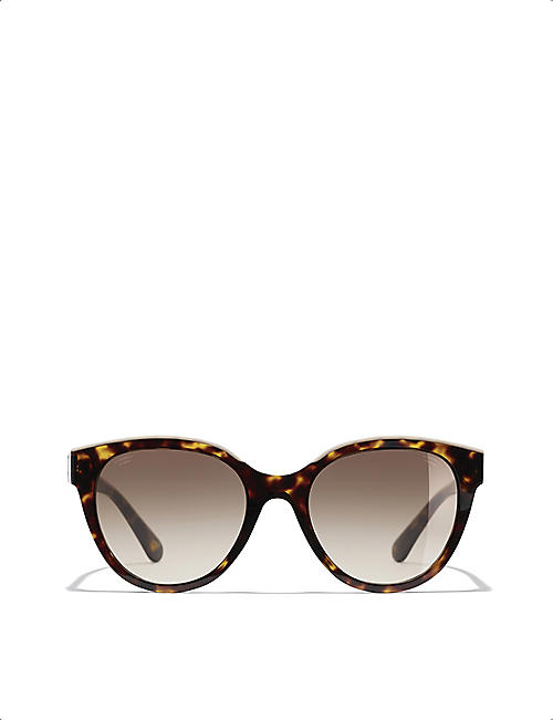 CHANEL: CH5414 butterfly sunglasses