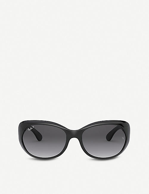RAY-BAN: RB4325 plastic bufferfly-frame sunglasses