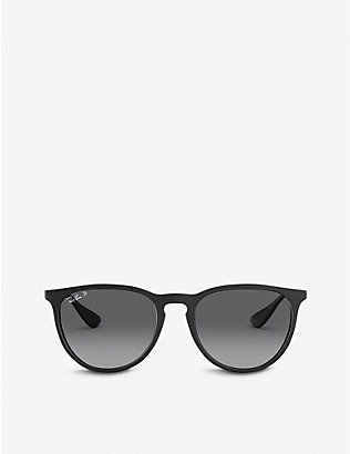 RAY-BAN: RB4171 Erika nylon acetate round-frame sunglasses