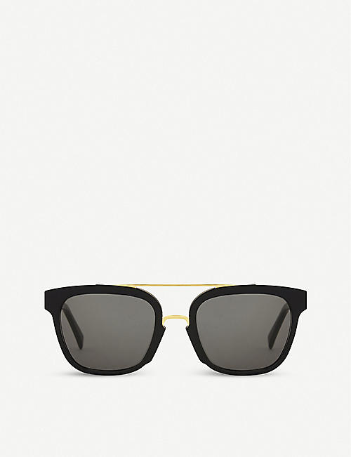 RETRO SUPER FUTURE: Akin square-frame sunglasses