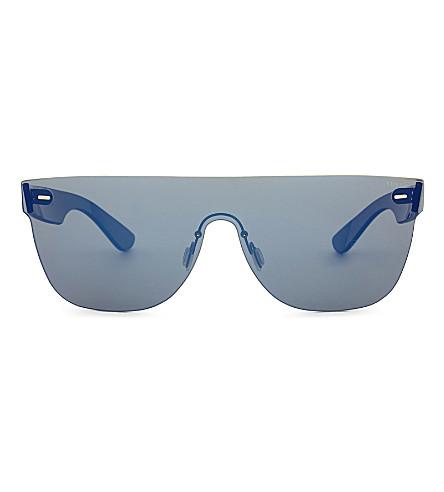 8de6617e3e999 RETRO SUPER FUTURE Tuttolente square-frame sunglasses (Blue