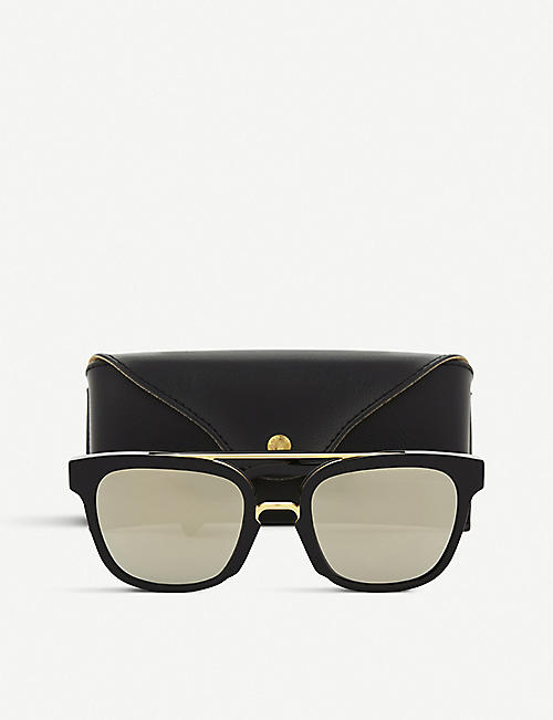 RETRO SUPER FUTURE Akin square-frame sunglasses