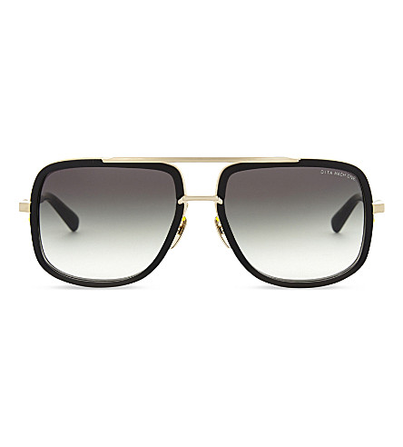 100d15d4ace DITA Mach-One pilot-frame sunglasses (Black+matte