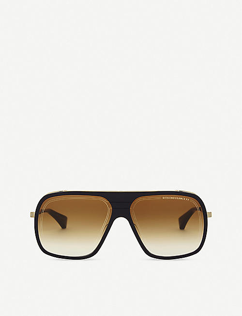 DITA: Endurance 79 square-frame sunglasses