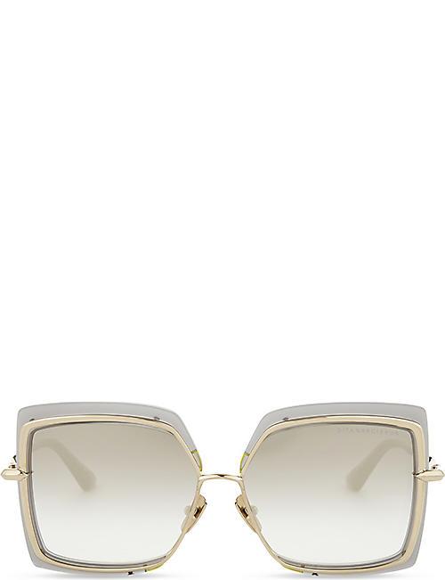 9a41ad9d6e02 DITA Narcissus square-frame sunglasses