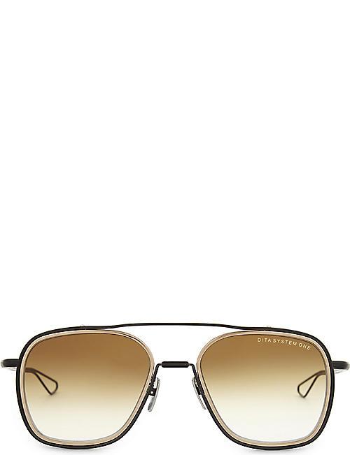 d2a014f114c DITA System-One square-frame sunglasses