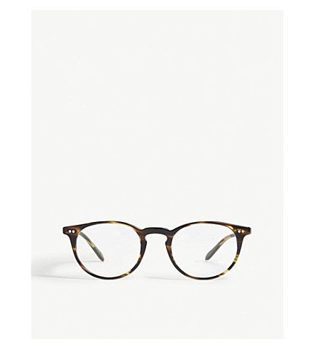 62c52255e50 ... OLIVER PEOPLES Riley-R Round-Frame Optical Glasses (Brown. PreviousNext