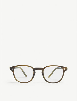 OLIVER PEOPLES OV5219 Fairmont square-frame Havana glasses