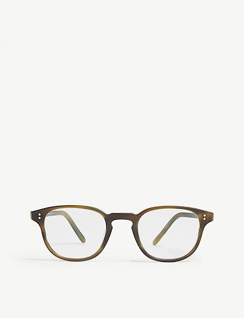 1a2a5a7db82 OLIVER PEOPLES OV5219 Fairmont square-frame Havana glasses