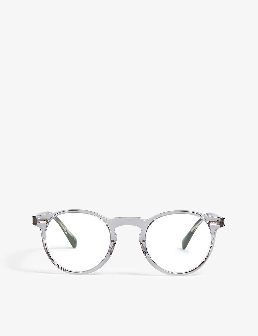 016152f11a90 OLIVER PEOPLES - Gregory Peck round-frame optical glasses ...