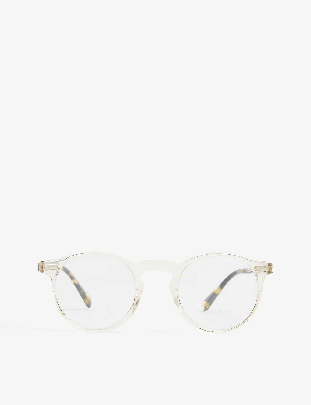 OLIVER PEOPLES: Gregory Peck round-frame optical glasses