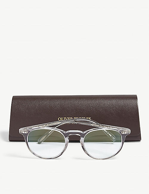 b90dbd245ae OLIVER PEOPLES Riley-R phantos-frame optical glasses · Quick Shop