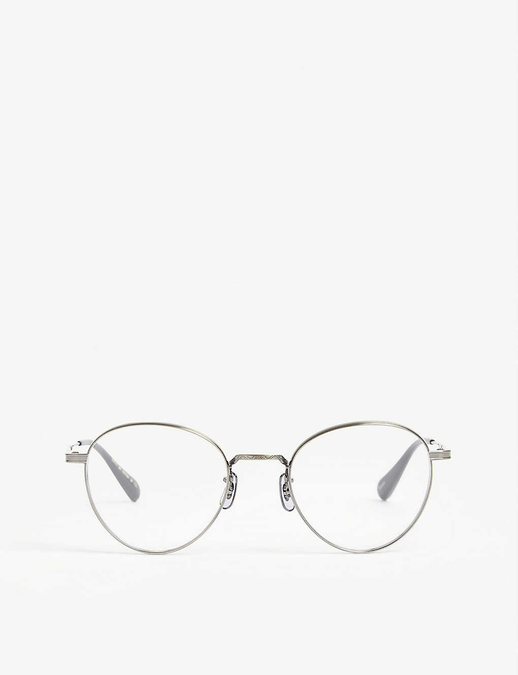 OLIVER PEOPLES: Watts phantos-frame optical glasses