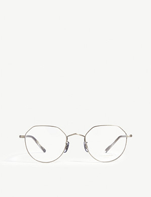 OLIVER PEOPLES OP-43 30th round-frame optical glasses