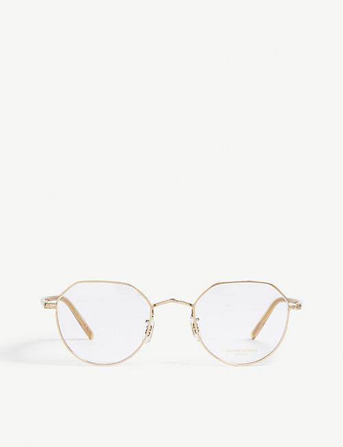 85b5df10fe010 OLIVER PEOPLES Round-frame optical glasses
