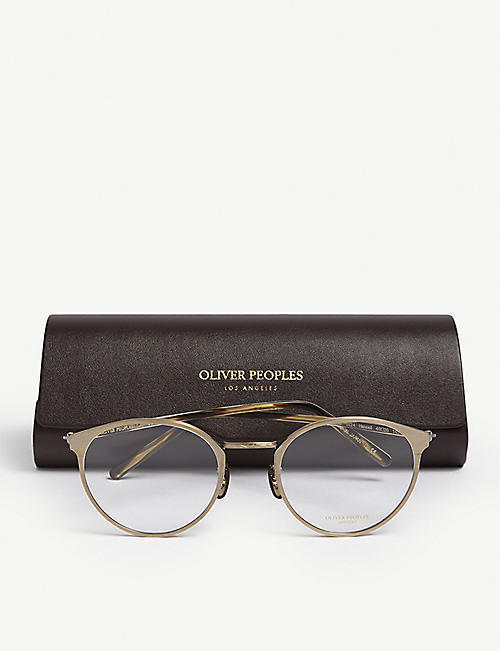 OLIVER PEOPLES Hanneli round glasses