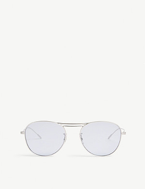 OLIVER PEOPLES Cade pilot-frame sunglasses