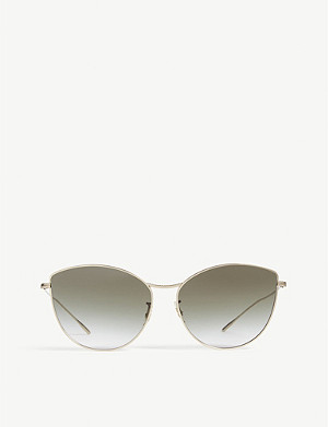 OLIVER PEOPLES Rayette irregular-frame sunglasses