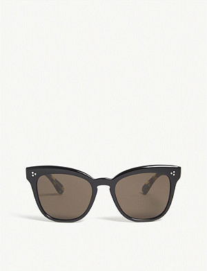 OLIVER PEOPLES Marianela butterfly-frame sunglasses