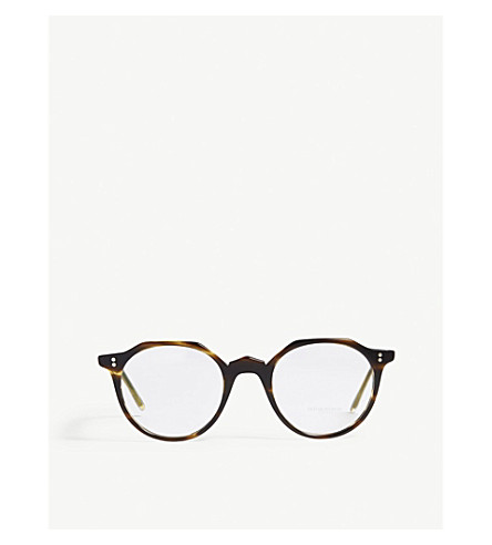 2e985b391c OLIVER PEOPLES Round-frame optical glasses (Brown
