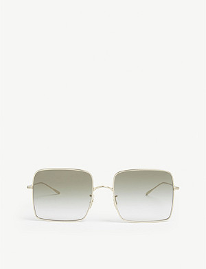 OLIVER PEOPLES Rassine square-frame sunglasses