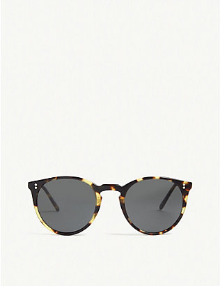 OLIVER PEOPLES: O'Malley phantos-frame sunglasses