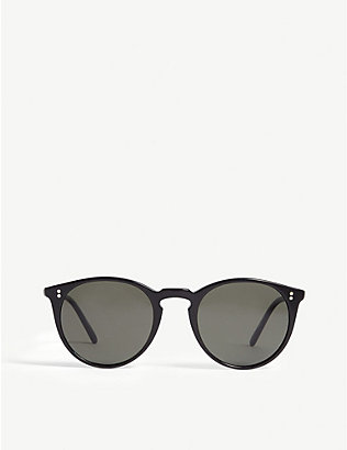 OLIVER PEOPLES: O'Malley round-frame sunglasses