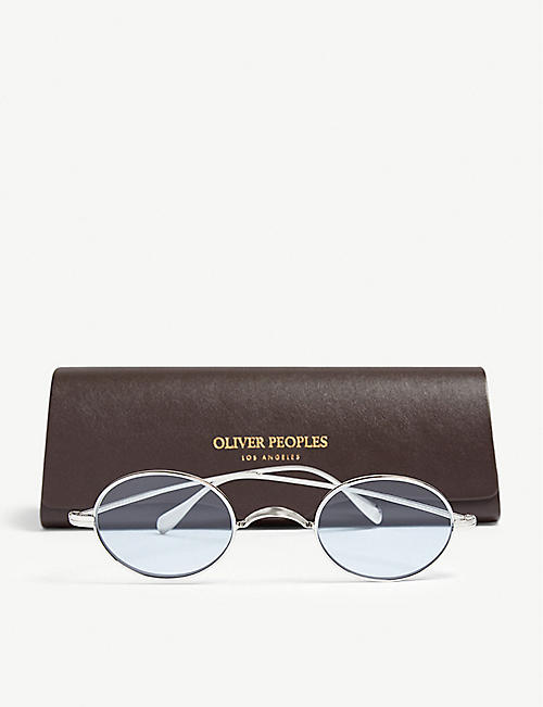OLIVER PEOPLES OV1185 Calidor oval-frame sunglasses