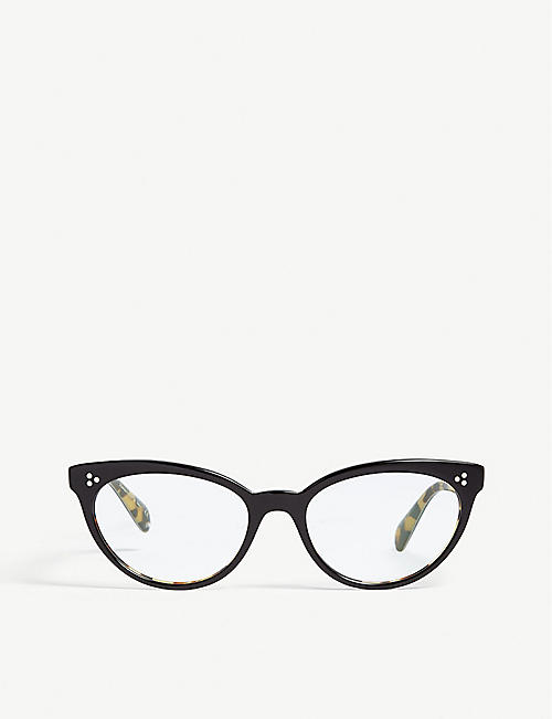 OLIVER PEOPLES: Arella cat-eye optical glasses