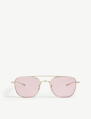 OLIVER PEOPLES Kress square-frame optical glasses