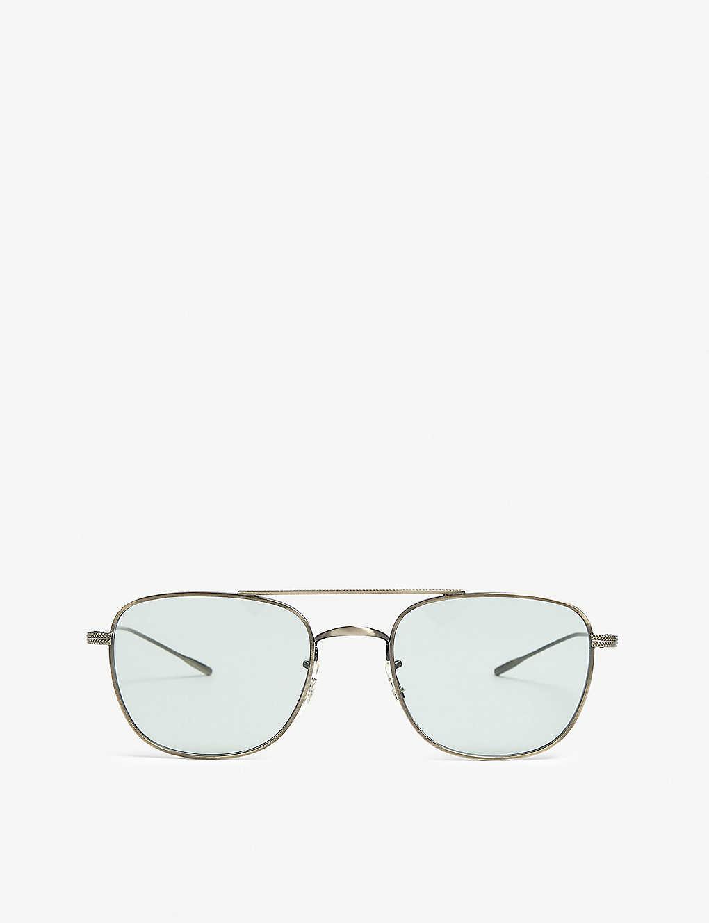 d69d22fad0 OLIVER PEOPLES - Kress aviator glasses