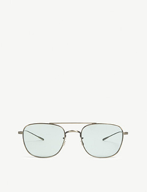 OLIVER PEOPLES Kress aviator glasses